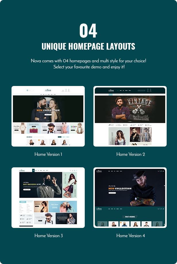 demo nova prestashop theme 1.7