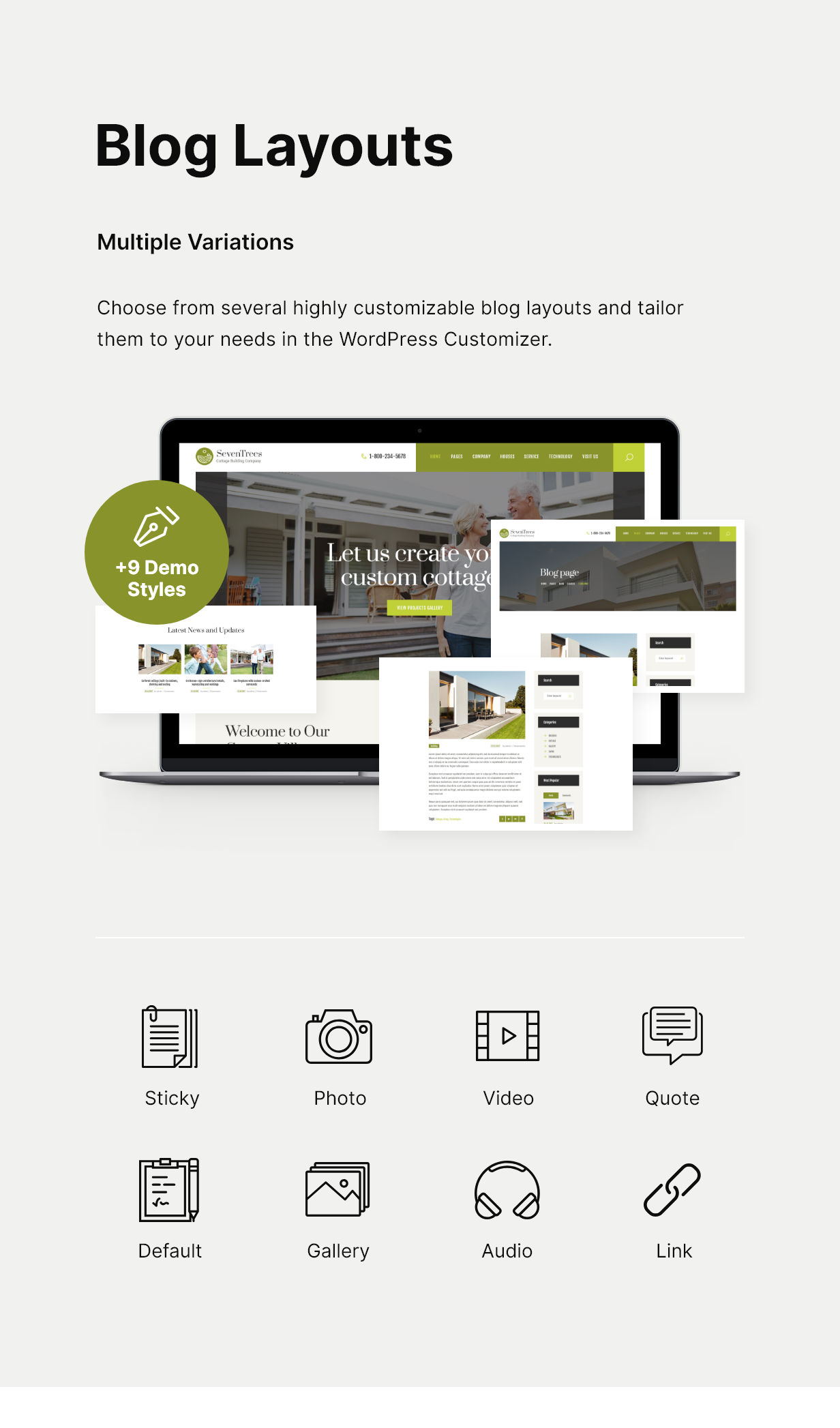 SevenTrees | Real Estate WordPress Theme - 5