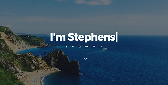 Stephens - Personal Portfolio Muse Template