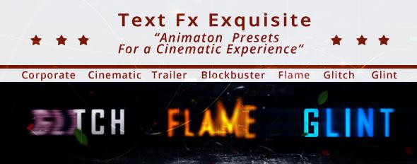 Text fx Exquisite