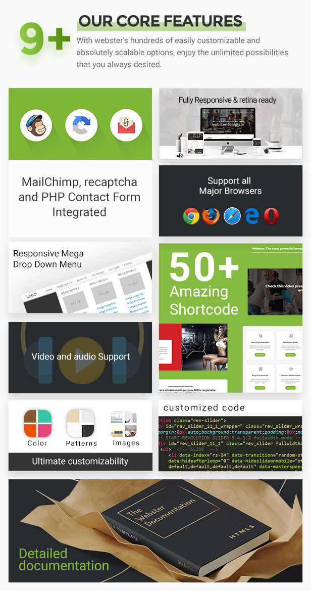 Webster - Responsive Multi-purpose HTML5 Template - 25