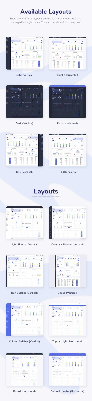 Skote - React Admin & Dashboard Template - 1