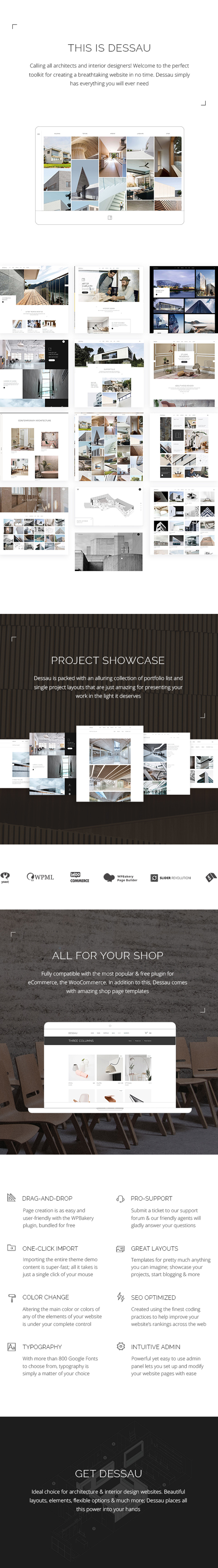 Dessau - Contemporary Theme for Architects and Interior Designers - 1