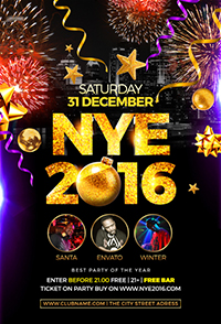 New Year 2016 Flyer - 5