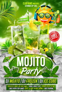 Salsa Party Flyer Template - 6