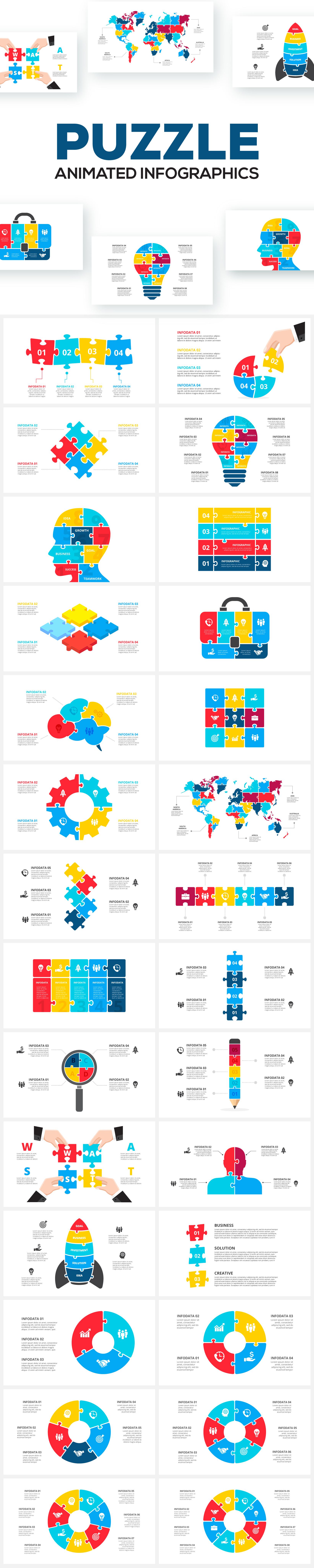 Multipurpose Infographics PowerPoint Templates v.5.0 - 129