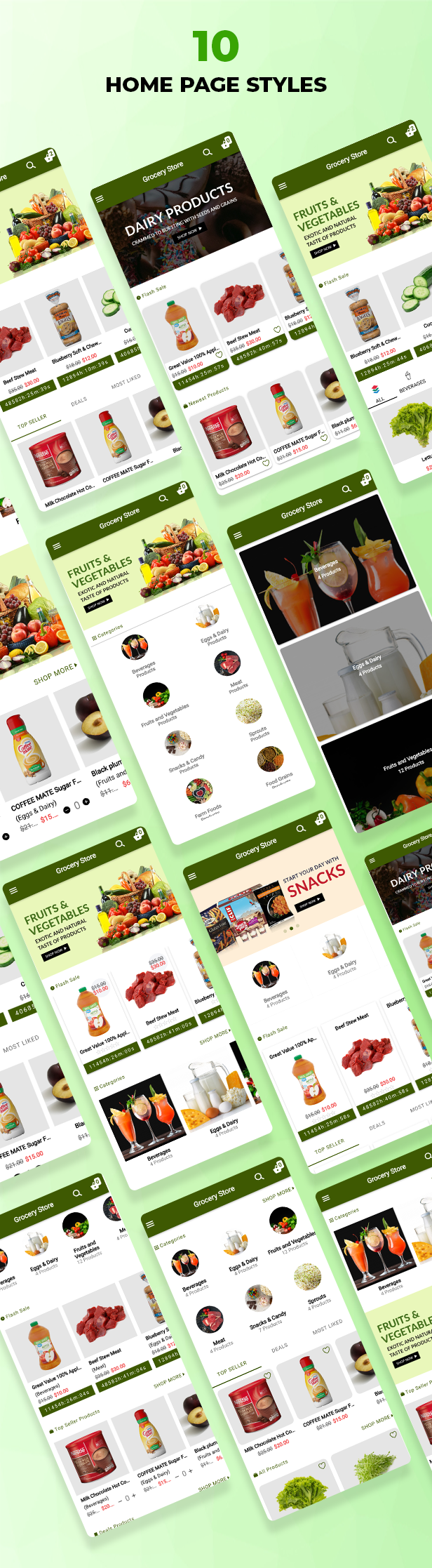 Ecommerce Solution with Delivery App For Grocery, Food, Pharmacy, Any Store / Laravel + Android Apps - 39