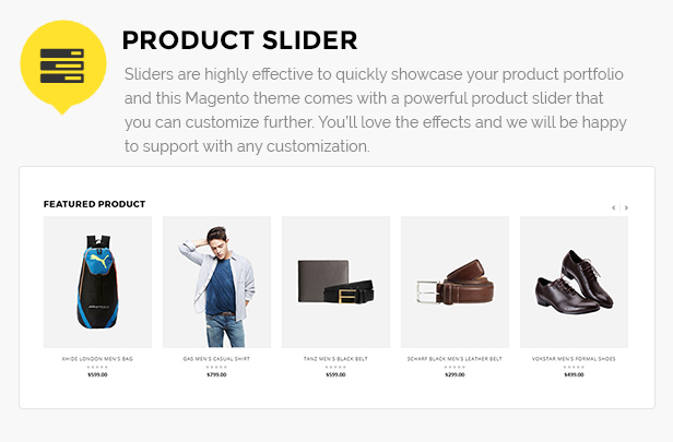 apparel store magento template