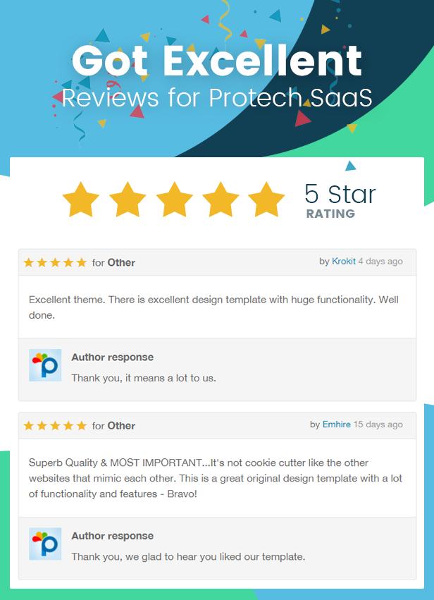 Protech SaaS -  SaaS, Software & WebApp Template - 1