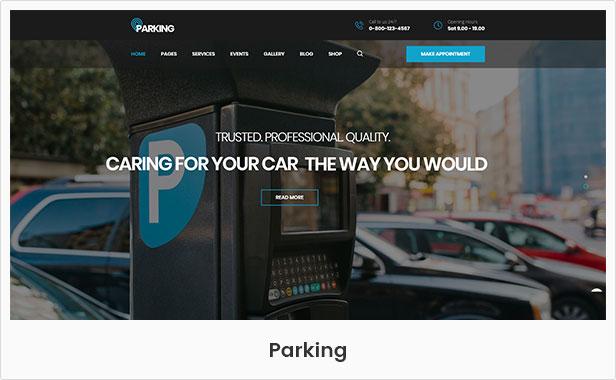CarRepair - Auto Mechanic & Adjustment WordPress Theme by