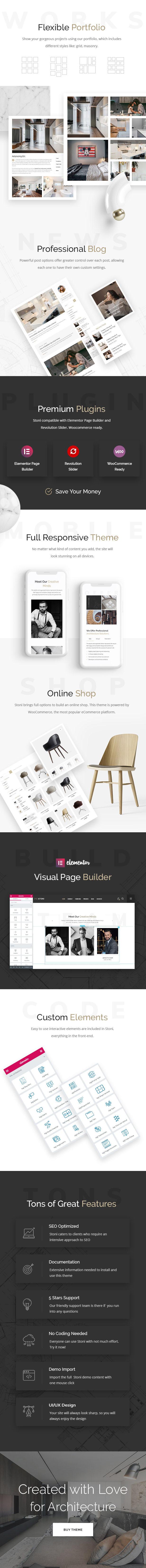 Stoni - Architecture Agency WordPress Theme - 2