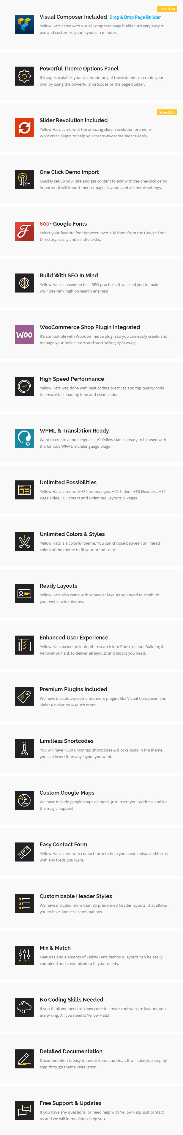 Construction, Building, Renovation & Handyman WordPress Theme