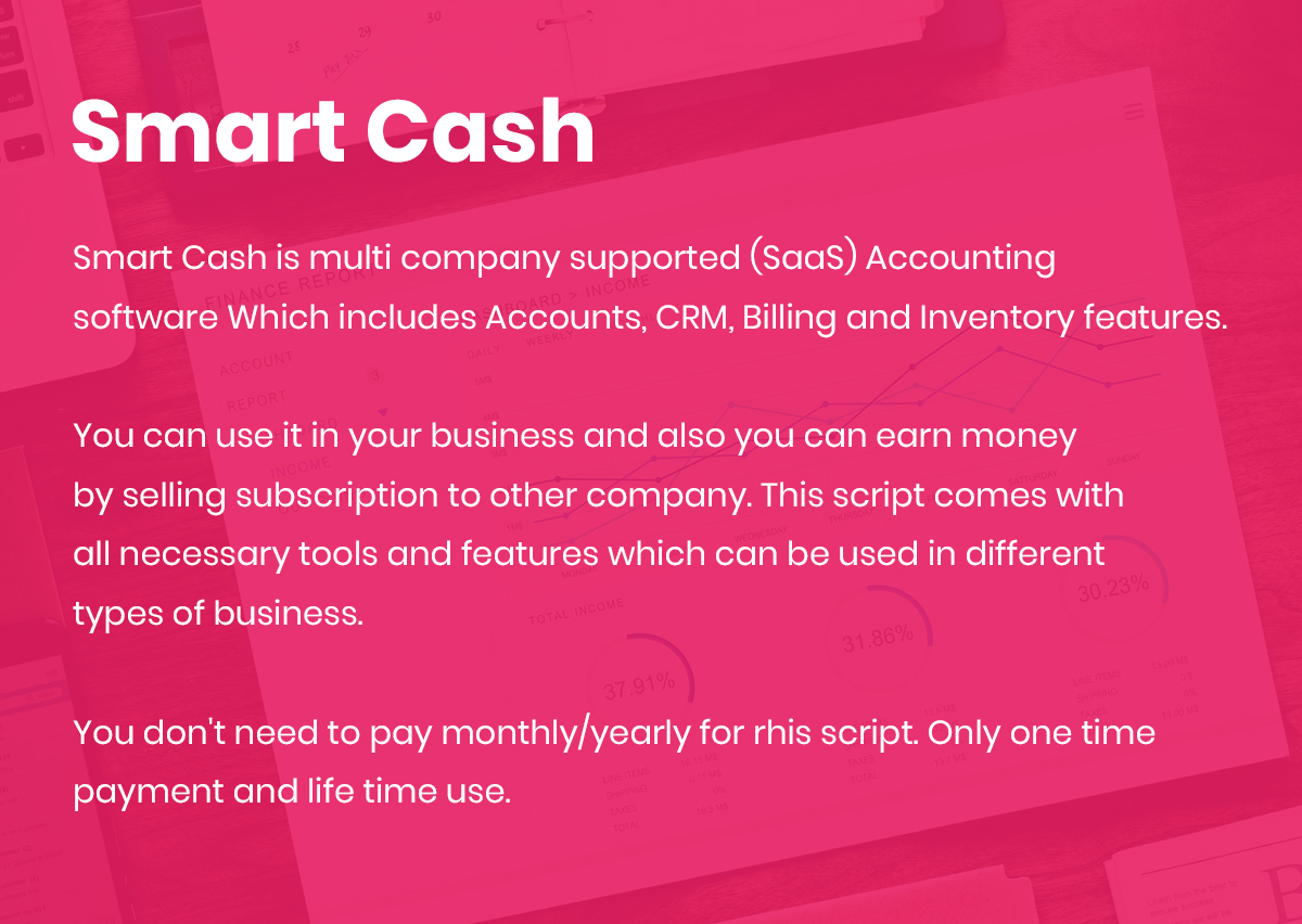 Smart Cash - Multi Company Accounts Billing & Inventory(SaaS) - 3