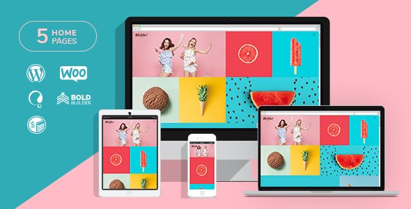 Oh la la - Ice Cream & Juice Bar WordPress Theme - Restaurants & Cafes Entertainment