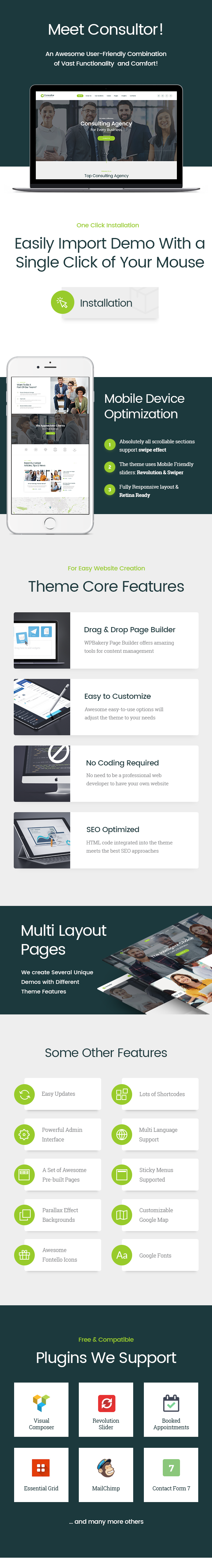 Consultor | A Business Consulting WordPress Theme - 1