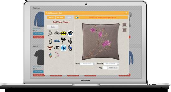 OpenCart Özel Tişört Tasarım - 10