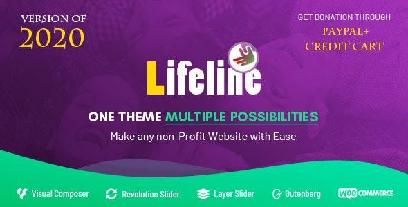 Lifeline - NGO, Fund Raising and Charity WordPress Theme - 12