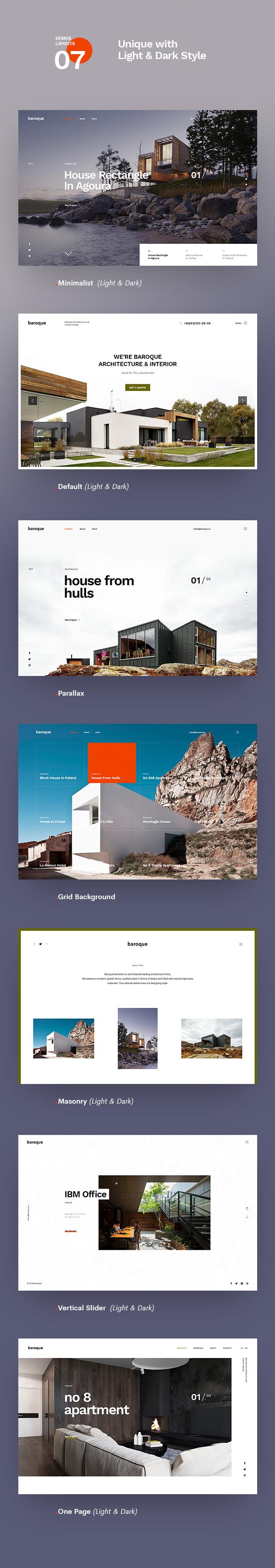Baroque - Architecture & Interior WordPress Theme - 8