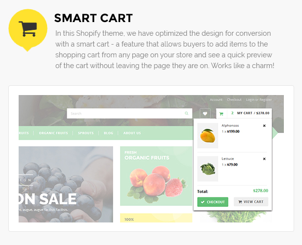 fruits shop shopify