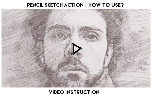 Pencil Sketch Action Photoshop Cs6