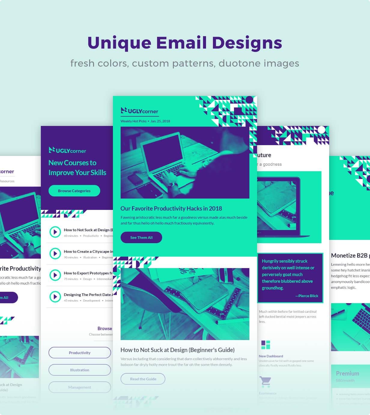 Unique Email Designs