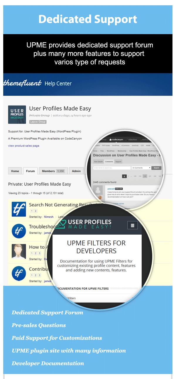 User Profiles Made Easy - WordPress Plugin - 279