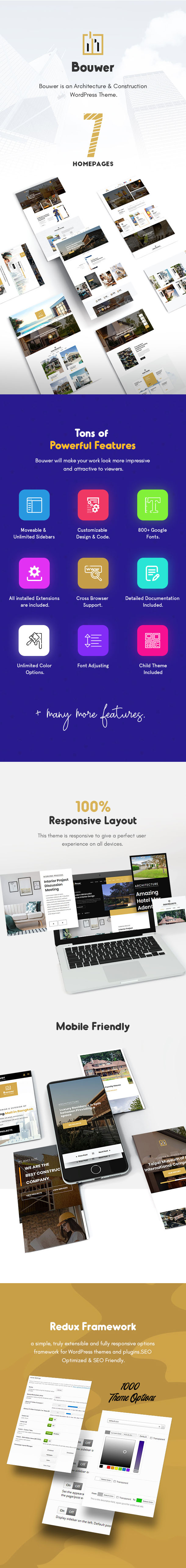 Architecture & Construction WordPress Theme