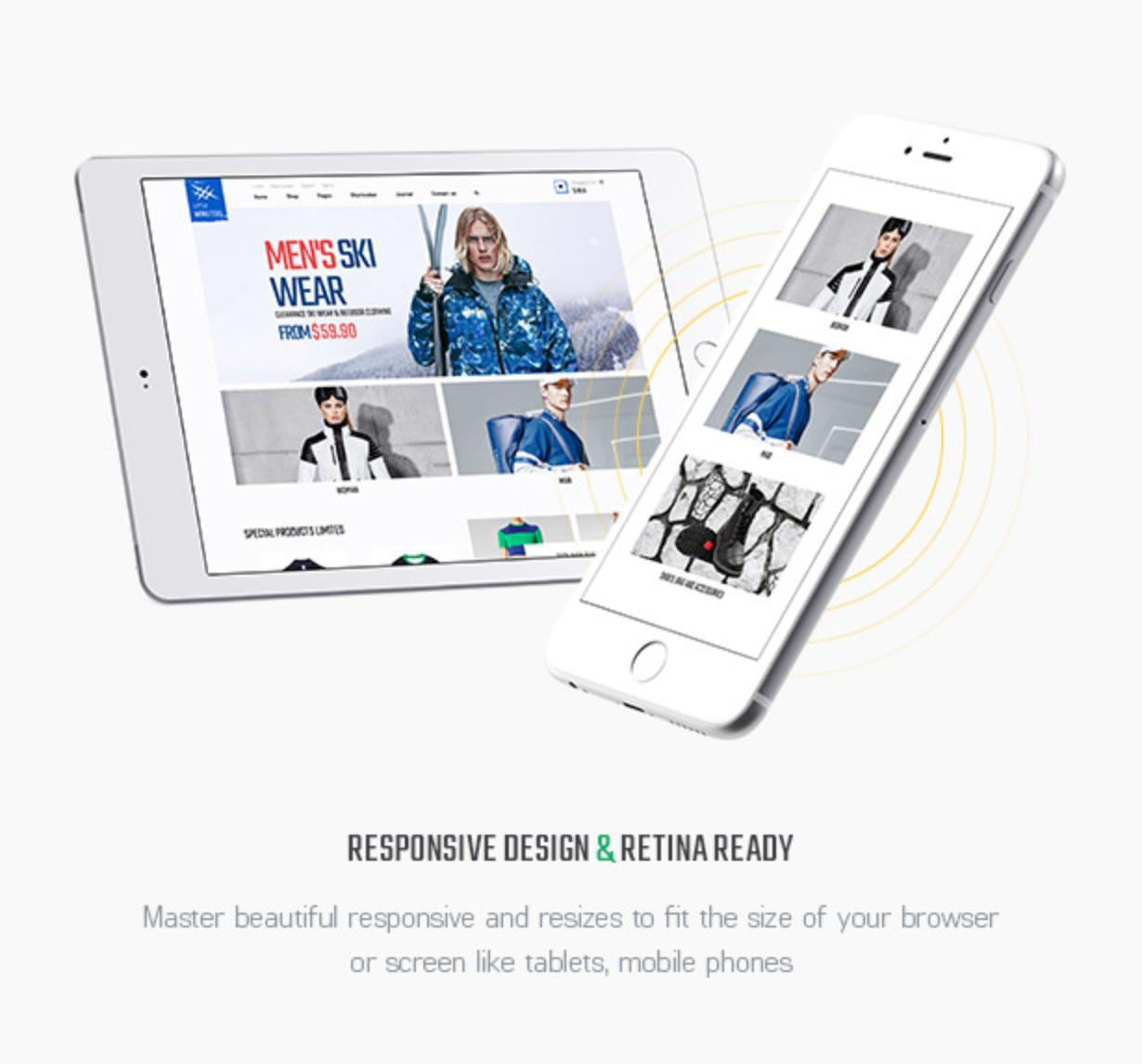 Littlemonsters Responsive Retina Ready Sport Fashion Store Woocommerce WordPress Themes