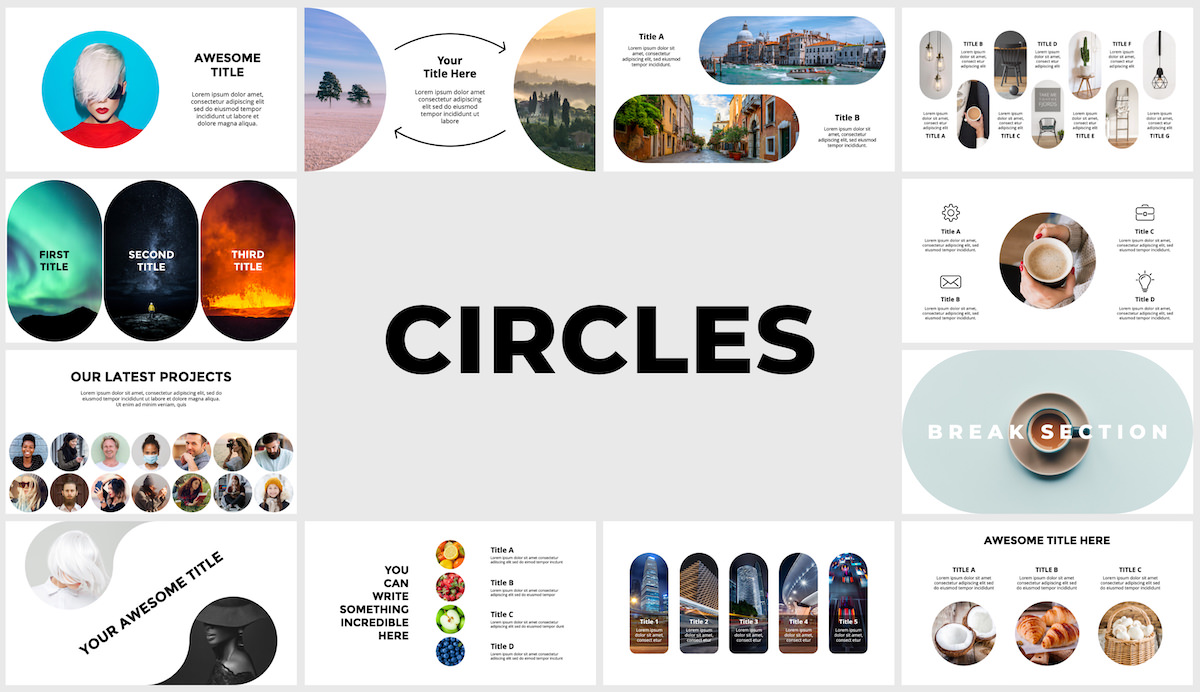 Huge Infographics Bundle! Lifetime Updates! PowerPoint, Photoshop, Illustrator. - 145