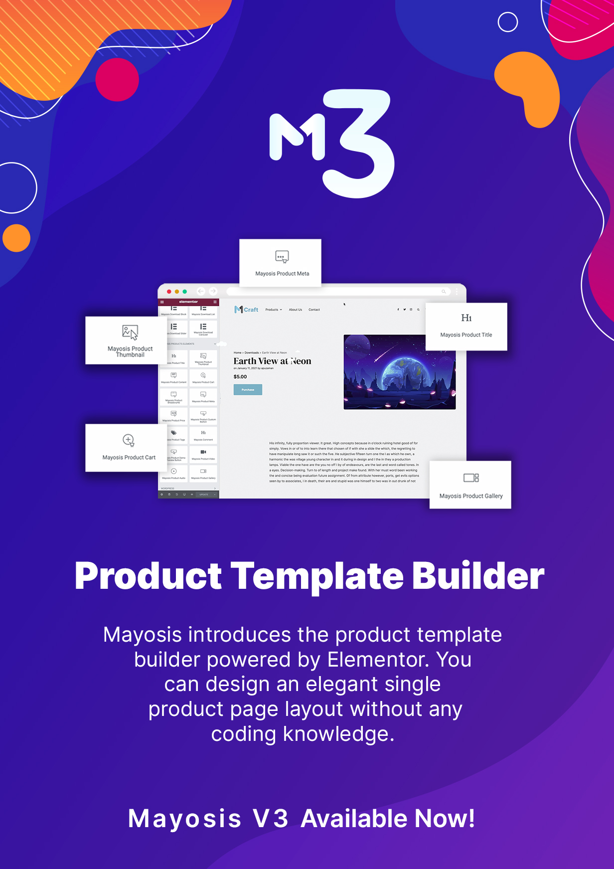 mayosis-product-builder