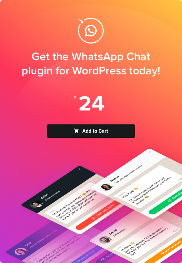 WhatsApp Chat - WordPress WhatsApp Chat - 4
