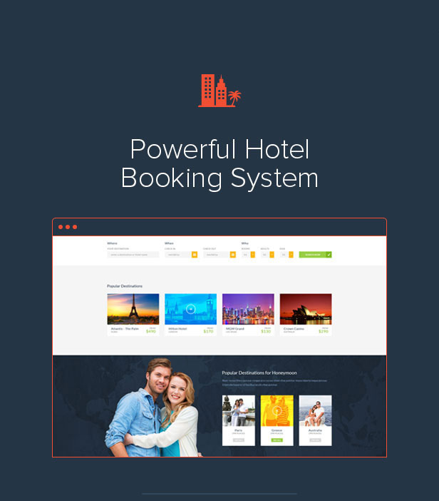 Travelo Booking Intro