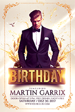 Birthday Party Flyer Template 1 - 10