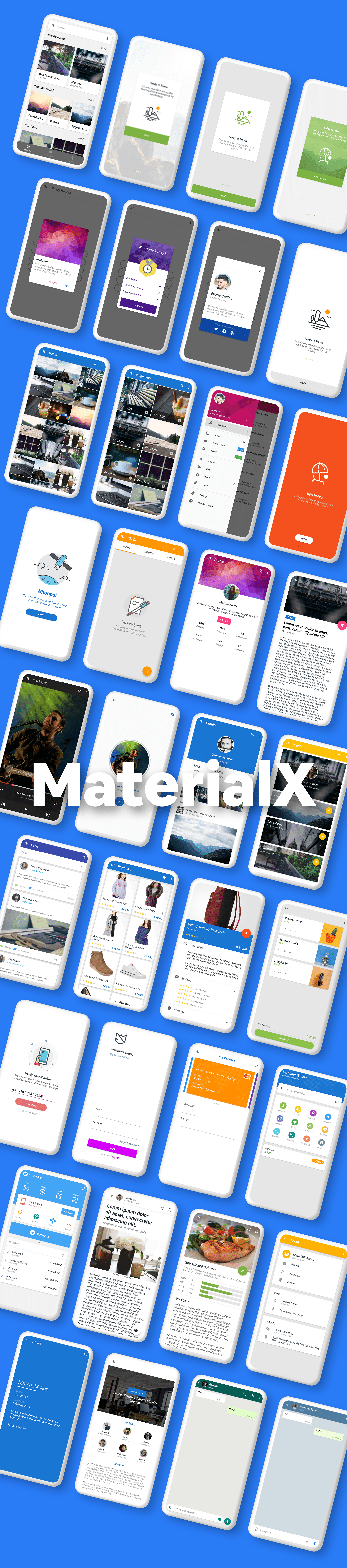 MaterialX - Android Material Design UI Components 2.7 - 5