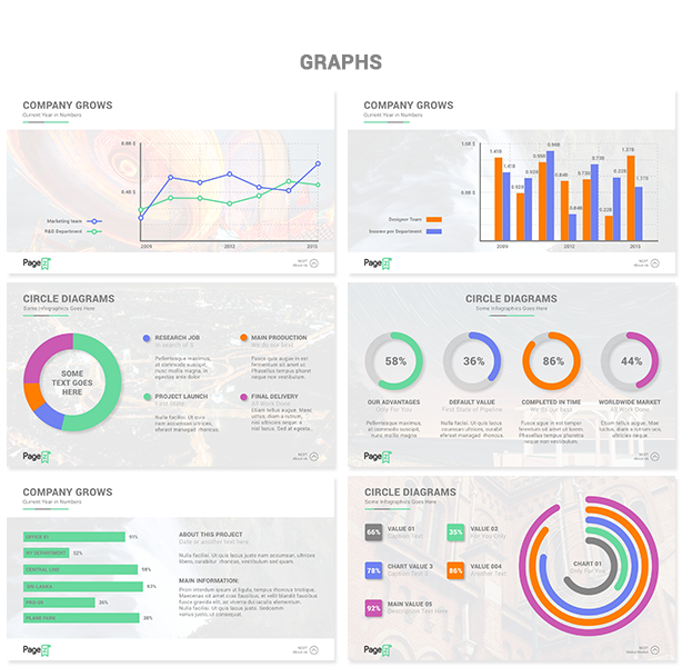 PageZ Multipurpose Presentation - Graphs