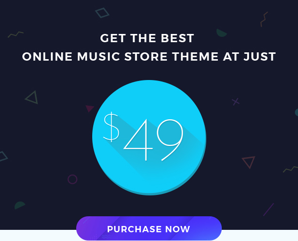 Miraculous - Online Music Store WordPress Theme - 6