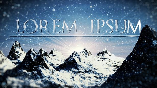 Cinematic Opener - Lorem Ipsum (Mogrt) - 1