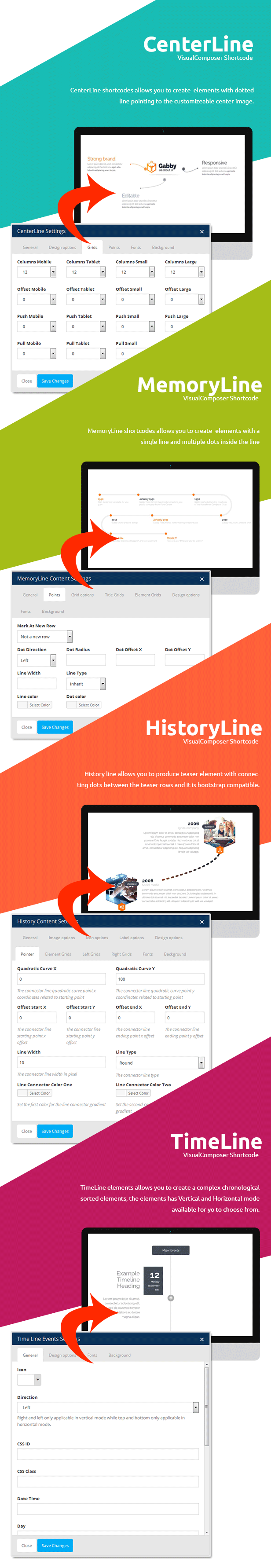 Visual Line WordPress Timeline Plugin