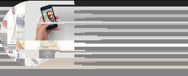 unique cross accordion slider