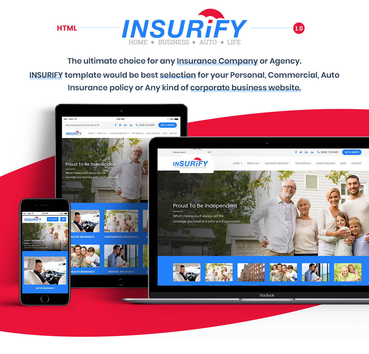 Insurance Template Features