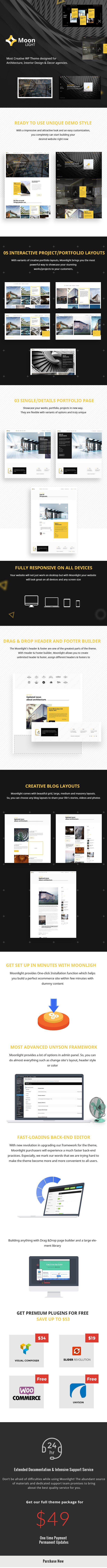 Moonlight WordPress theme