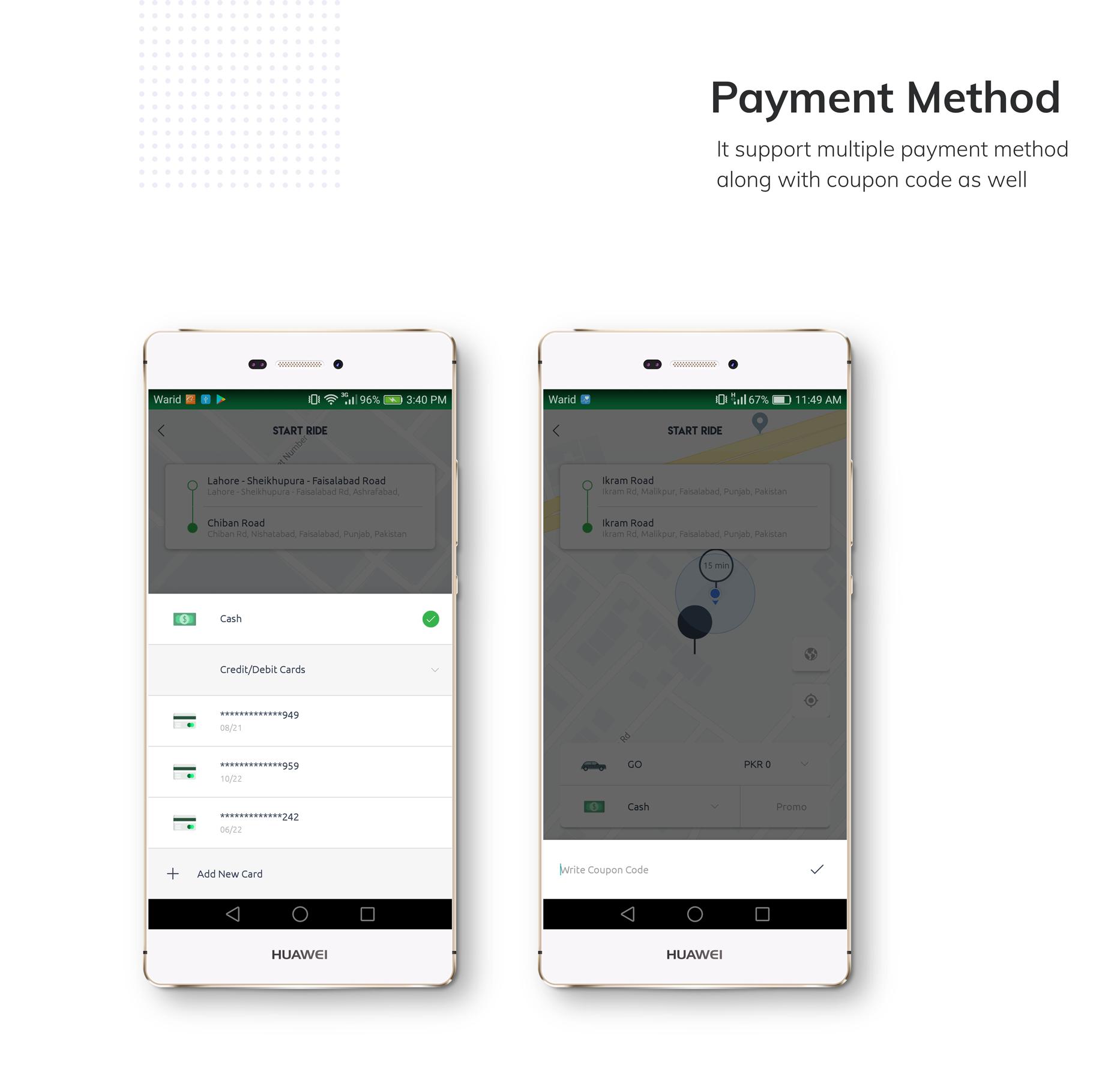 Kareem Taxi App - Cab Booking Solution + admin panel - 4