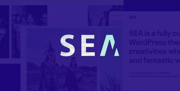 SEA Responsive Creative Multi-Purpose WordPress Theme