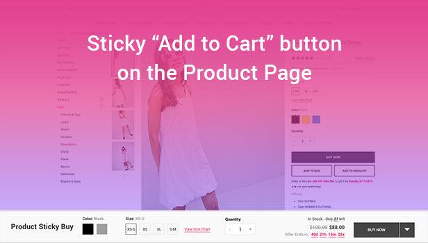 detail sticky buy layout