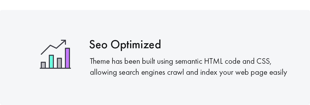 Konte WooCommerce theme - SEO optimized