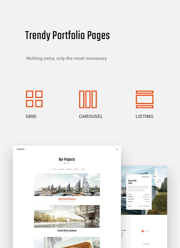 Arquito - 3D Architecture & Interior WordPress Theme - 8