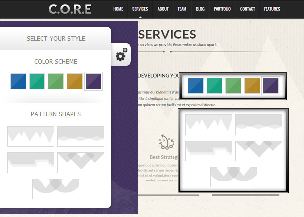 Core - One Page Responsive HTML5 Template - 10