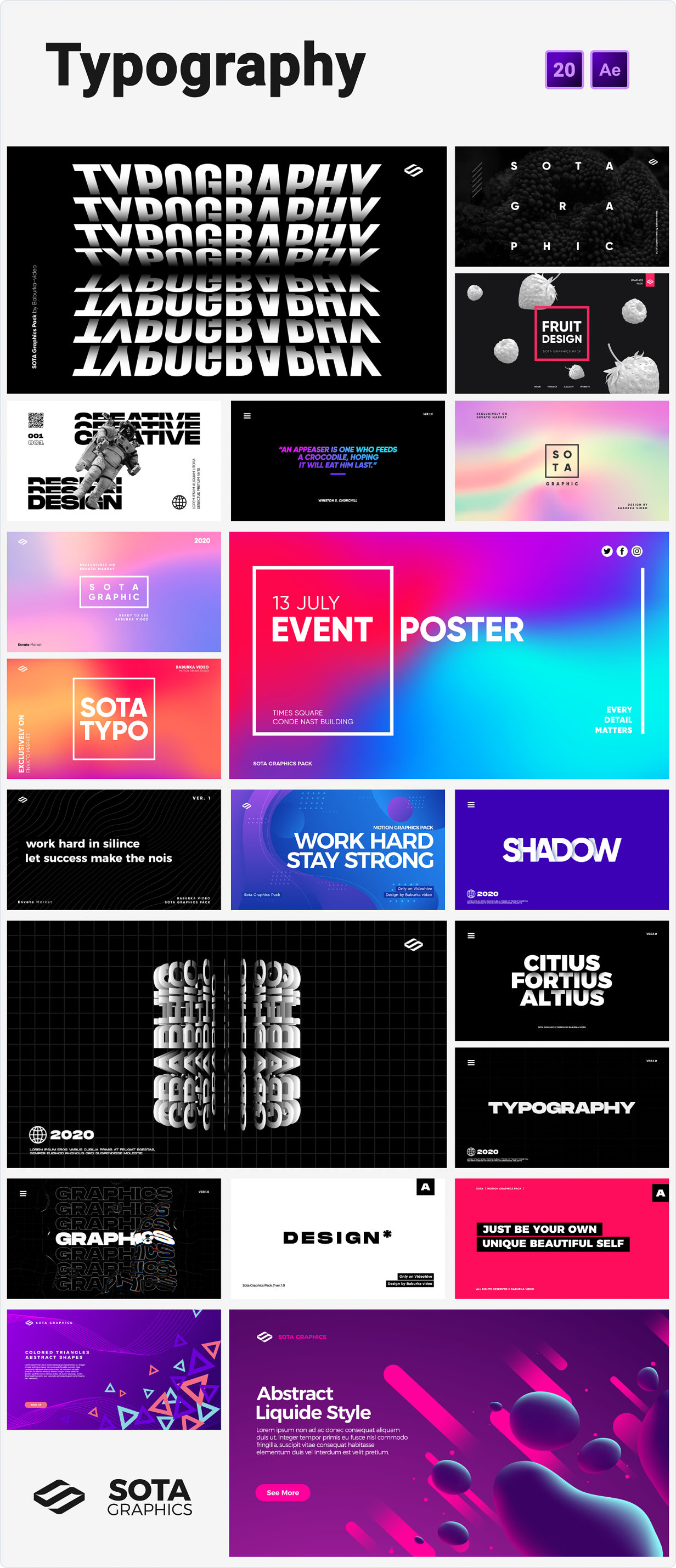 Motion Graphics Pack - 9