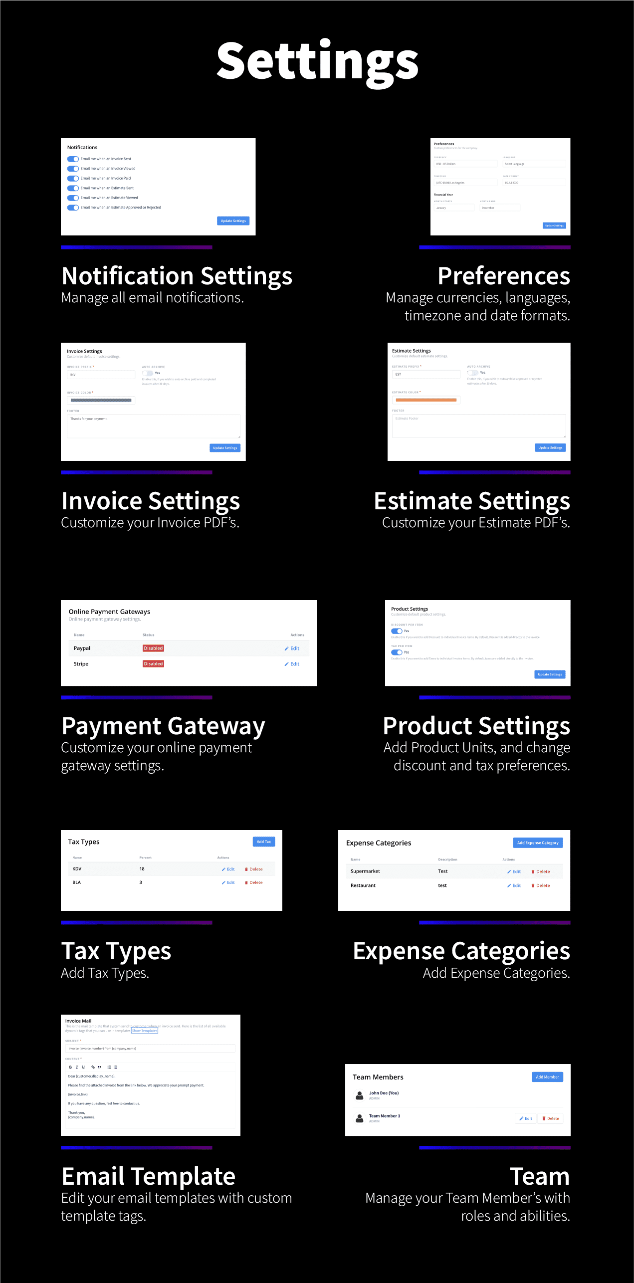 Foxtrot (SaaS) - Customer, Invoice and Expense Management System - 14