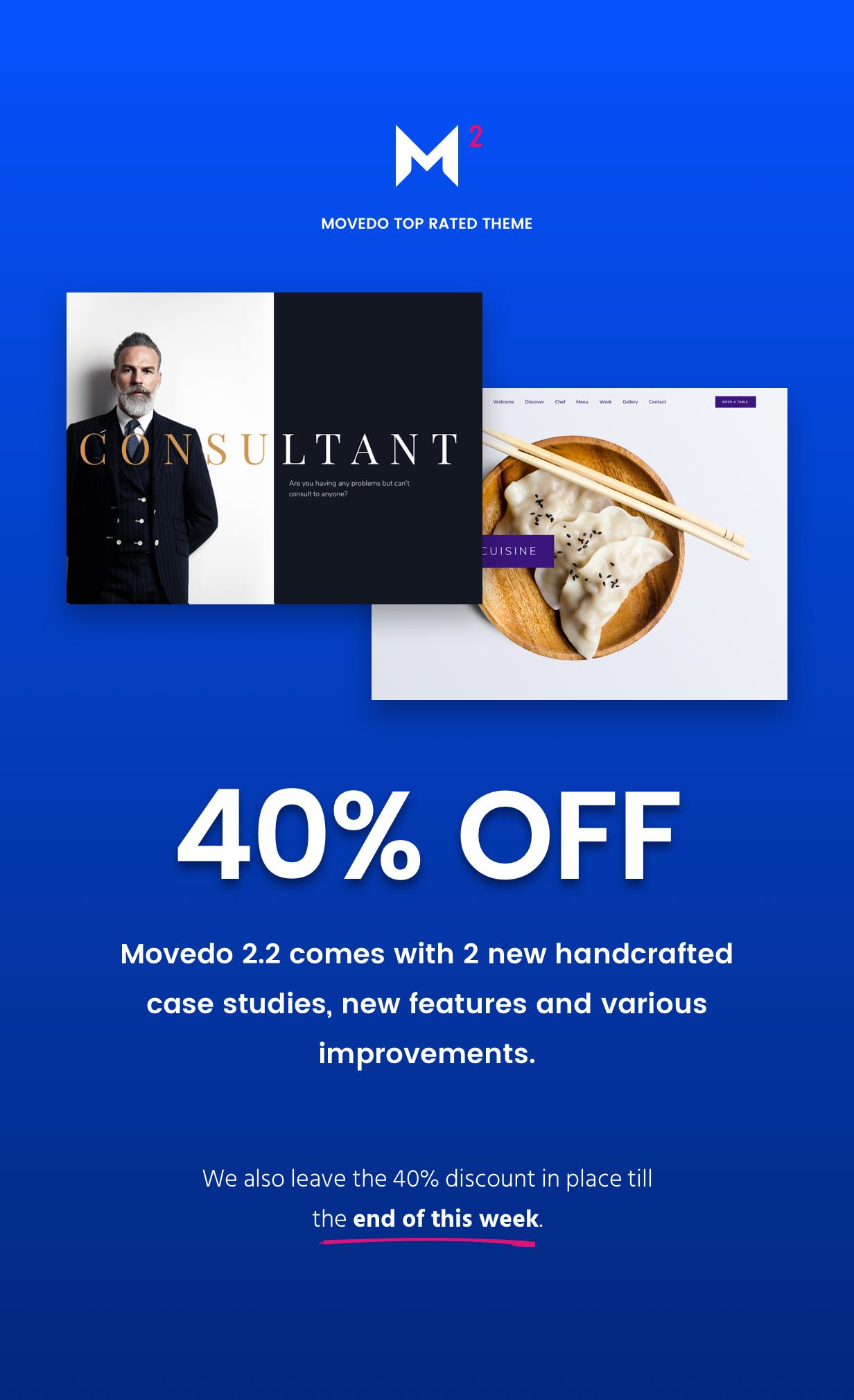 Movedo 2.2 on Sale 40%